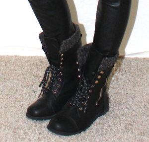 sock combat boots